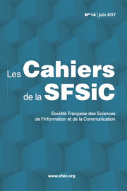 Couverture Cahiers SFSIC 14