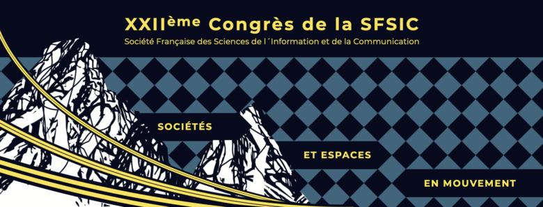 Bannière congrès SFSIC 2020