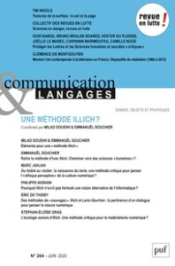 Couverture Communication Langages 204