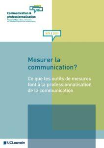 Couverture Communication et professionnalisation 9