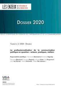 Couverture Les Enjeux-Dossier 2020