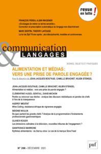 Couverture Communication et langages 206