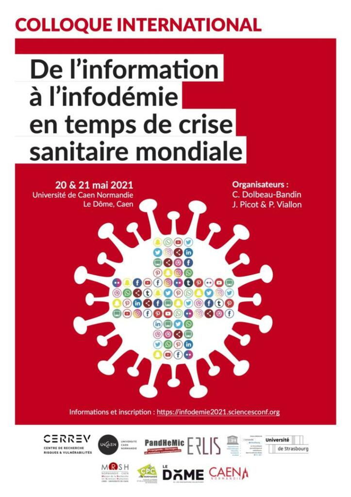 Affiche colloque Infodemie 2021