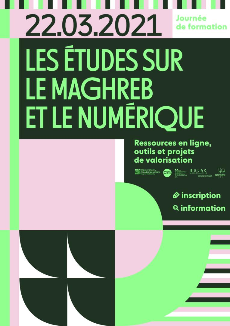 Affiche Formation-digital maghreb 2021