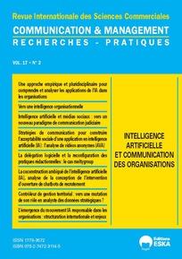 Couverture Communication et management 17 2021