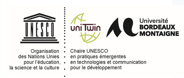 Logo Chaire Unesco en pratiques émergentes en technologies et communication pour le développement