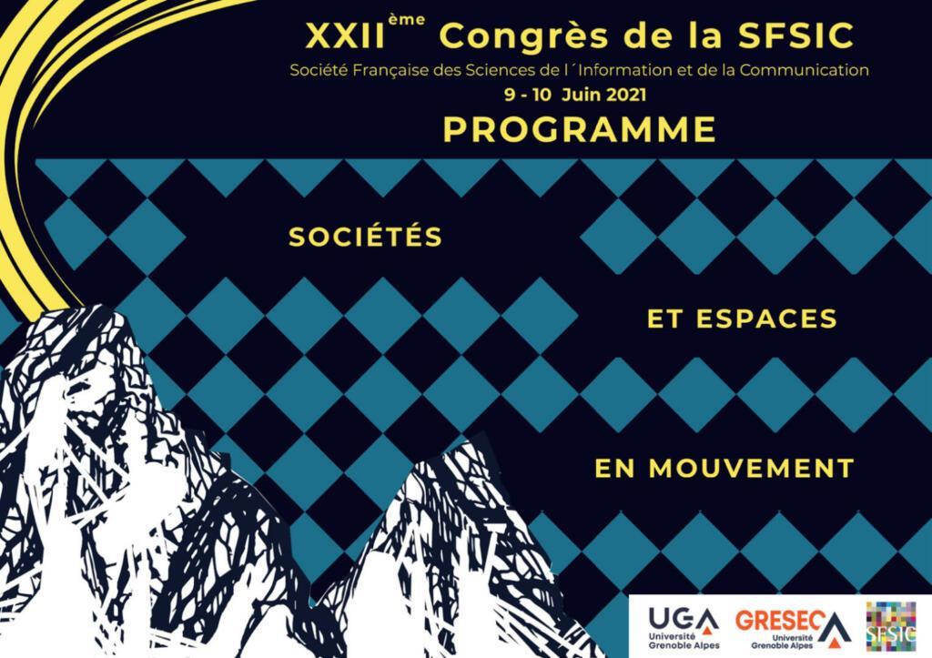 Couverture Programme Congrès SFSIC 2021
