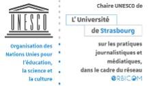 Logo chaire Unesco Pratiques Journalistiques et médiatiques